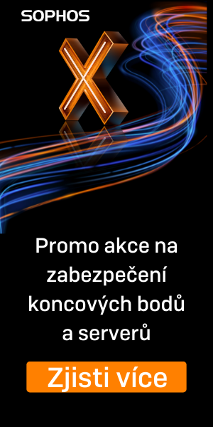 Sophos - promo akce na zabezpeÄŤenĂ koncovĂ˝ch bodĹŻ