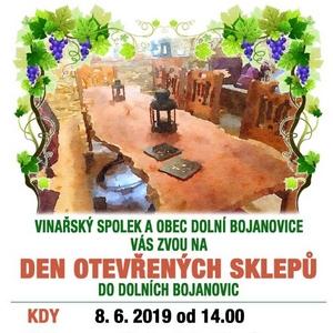 Den otevřených sklepů Dolní Bojanovice 2019