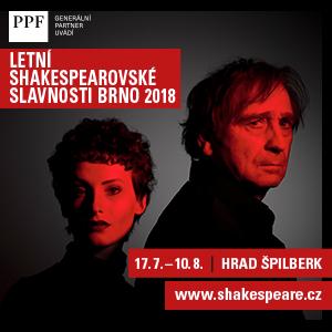 Letní shakespearovské slavnosti Brno 2018