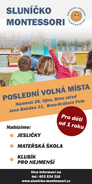 Sluníčko Montessori - poslední volná místa
