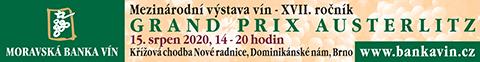 Mezinárodní výstava vín Grand Prix Austerlitz 2020
